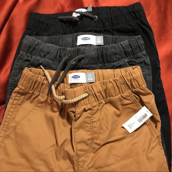Old Navy Other - 3 pairs of Old Navy boys joggers pants